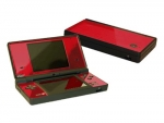 Nintendo DSi Skin :: Red Chrome