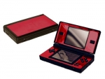 Nintendo DS Lite Skin :: Red Chrome