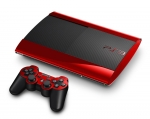 Sony PlayStation 3 Super Slim Skin :: Red Chrome