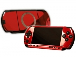 Sony PSP Skin :: Red Chrome