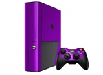 Microsoft Xbox 360 (3rd Gen) Skin :: Purple Chrome