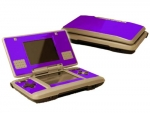 Nintendo DS Skin :: Purple Chrome