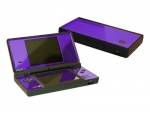 Nintendo DSi Skin :: Purple Chrome