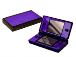 Nintendo DS Lite Skin :: Purple Chrome