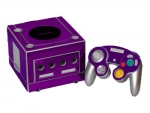 Nintendo GameCube Skin :: Purple Chrome