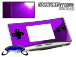 Nintendo Gameboy Micro Skin :: Purple Chrome