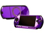 Sony PSP Skin :: Purple Chrome