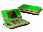 Nintendo DS Skin :: Lime Green Chrome