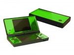 Nintendo DSi Skin :: Lime Green Chrome