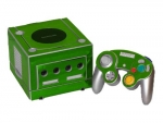 Nintendo GameCube Skin :: Lime Green Chrome