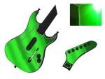 Guitar Hero 3 Les Paul Guitar for the PS2 Skin :: Lime Green Chrome
