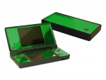 Nintendo DSi Skin :: Green Chrome
