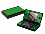 Nintendo DS Lite Skin :: Green Chrome