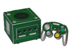 Nintendo GameCube Skin :: Green Chrome