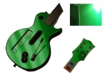 Guitar Hero 3 Les Paul Guitar for the Nintendo Wii Skin :: Green Chrome