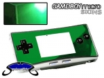 Nintendo Gameboy Micro Skin :: Green Chrome
