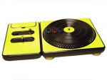 DJ Hero for the PS2, PS3, and 360 Skin :: Yellow Chrome