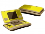 Nintendo DS Skin :: Yellow Chrome