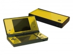 Nintendo DSi Skin :: Yellow Chrome