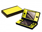 Nintendo DS Lite Skin :: Yellow Chrome