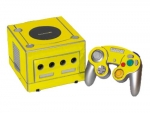 Nintendo GameCube Skin :: Yellow Chrome