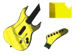 Guitar Hero 3 Les Paul Guitar for the PS2 Skin :: Yellow Chrome