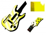 Guitar Hero 5 Genericaster Guitar for the Wii Skin :: Yellow Chrome