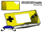 Nintendo Gameboy Micro Skin :: Yellow Chrome