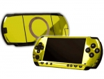 Sony PSP Skin :: Yellow Chrome