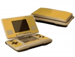 Nintendo DS Skin :: Gold Chrome