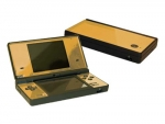 Nintendo DSi Skin :: Gold Chrome