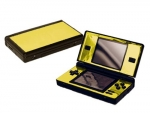 Nintendo DS Lite Skin :: Gold Chrome