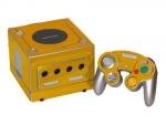 Nintendo GameCube Skin :: Gold Chrome