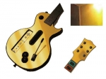 Guitar Hero 3 Les Paul Guitar for the Nintendo Wii Skin :: Gold Chrome