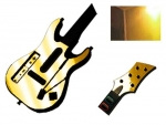 Guitar Hero 5 Genericaster Guitar for the Wii Skin :: Gold Chrome