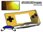 Nintendo Gameboy Micro Skin :: Gold Chrome
