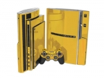 Sony PlayStation 3 Skin :: Gold Chrome
