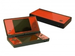 Nintendo DSi Skin :: Orange Chrome