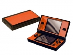 Nintendo DS Lite Skin :: Orange Chrome