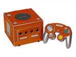 Nintendo GameCube Skin :: Orange Chrome