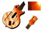 Guitar Hero 3 Les Paul Guitar for the Nintendo Wii Skin :: Orange Chrome