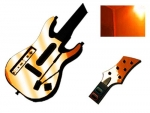 Guitar Hero 5 Genericaster Guitar for the Wii Skin :: Orange Chrome