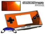 Nintendo Gameboy Micro Skin :: Orange Chrome