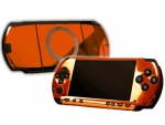 Sony PSP Skin :: Orange Chrome