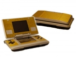 Nintendo DS Skin :: Brushed Gold