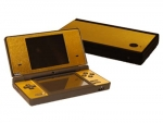 Nintendo DSi Skin :: Brushed Gold
