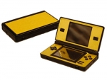 Nintendo DS Lite Skin :: Brushed Gold