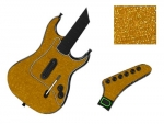Guitar Hero 3 Les Paul Guitar for the PS2 Skin :: Brushed Gold