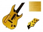 Guitar Hero 5 Genericaster Guitar for the Wii Skin :: Brushed Gold