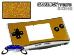 Nintendo Gameboy Micro Skin :: Brushed Gold